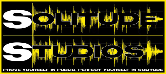 Solitude Studios Logo (JPEG), with slogan, Alternate