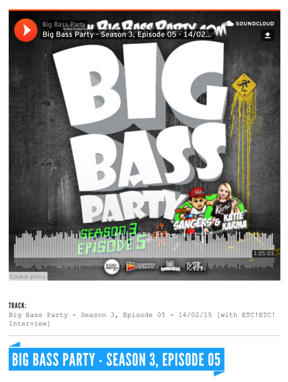 JuiceDrop_BigBassParty_Season3_Episode5, #JuiceRecordings, #ItsWesSmithYo, #WesSmith, #TheJuiceSquad, #StickyBumps, #BringBackThatFunk, #Califunkya, #CampCharlie, #EDM, #UDM, #Bass, #Funk, #Breaks, #Breakbeat, #Garage, #2step, #UK, #FutureGarage #USA, #California, #SanDiego, #Etc!Etc!, #Diplo, #MadDecent, #Sangers, #KatieKarma, #Australia, #Brisbane, #BigBassParty