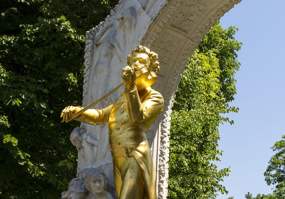 Statue of Mozart, Vienna, Austria