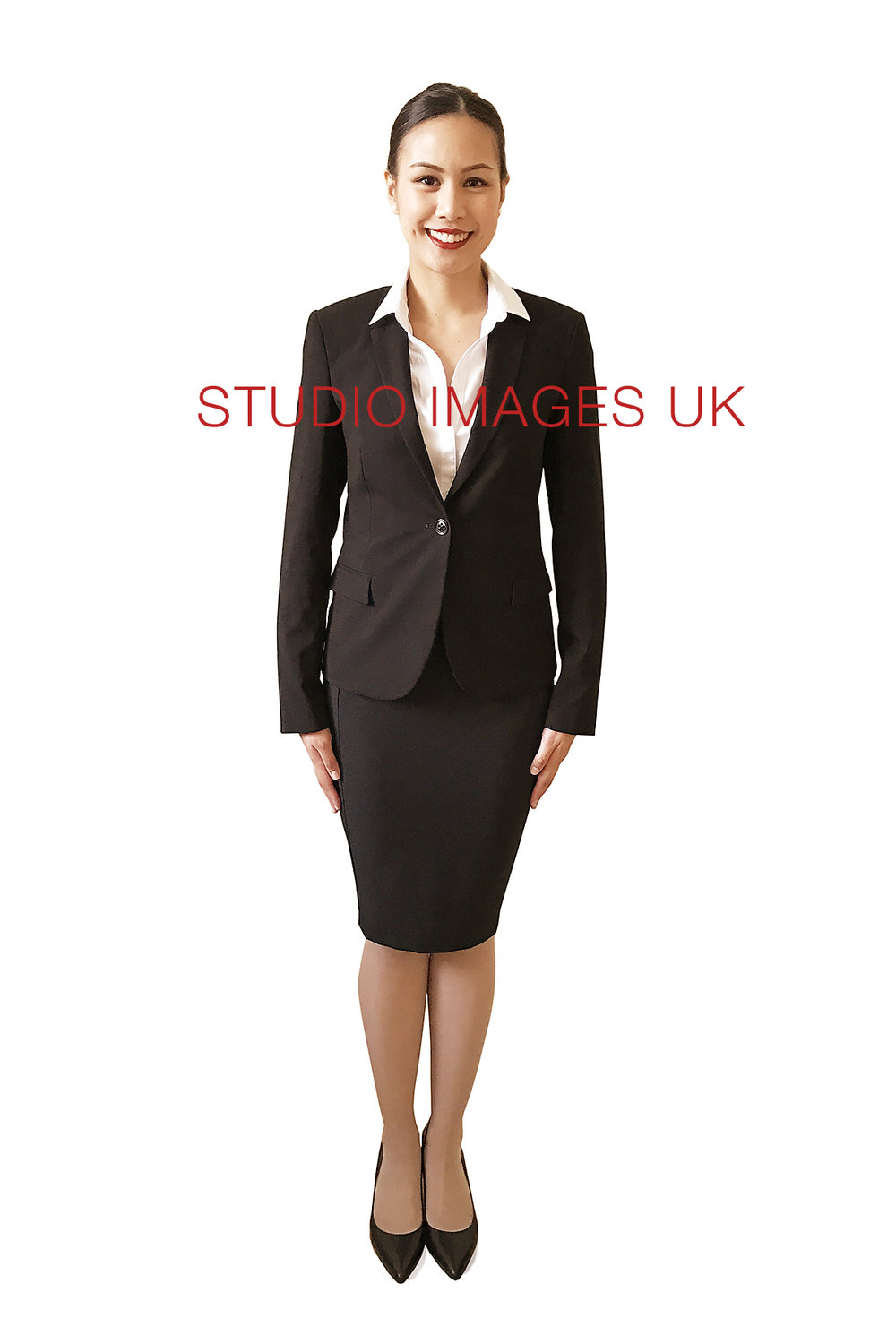 Dress Code - Smart business attire with full length hosiery.If wearing a skirt, it should be one inch below the knee.NailsClean and manicured with nail varnish in clear, red or French manicure.TattoosNo visible tattoos.ShoesWear heels.