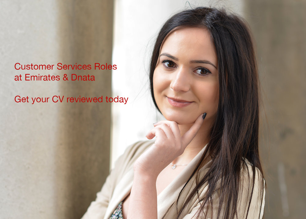 If you are applying for an Emirates or dnata customer service role, get your CV reviewed today to increase your chances.  Roles include Tours Consultant, Contact Centre Team Leader, Software engineer, Operations Manager, Digital Market Specialist, Travel Consultant, Sales Executives, Customer Sales & Service Agents, Customer Sales, Travel executives.  We help you with your CV to highlight your transferable skills. Your Customer Sales role would require the highest standard of customer service to be provided to Emirates customers, fares, online tickets, sales opportunities and promoting Emirates products and high standards of service quality. Alternatively, if you are trying for the Travel Consultant role at Emirates Holiday or Dnata Travel services, it requires you to use technology to plan tailor made solutions and complex itineraries to customers and travel agents overseeing the customers journey.