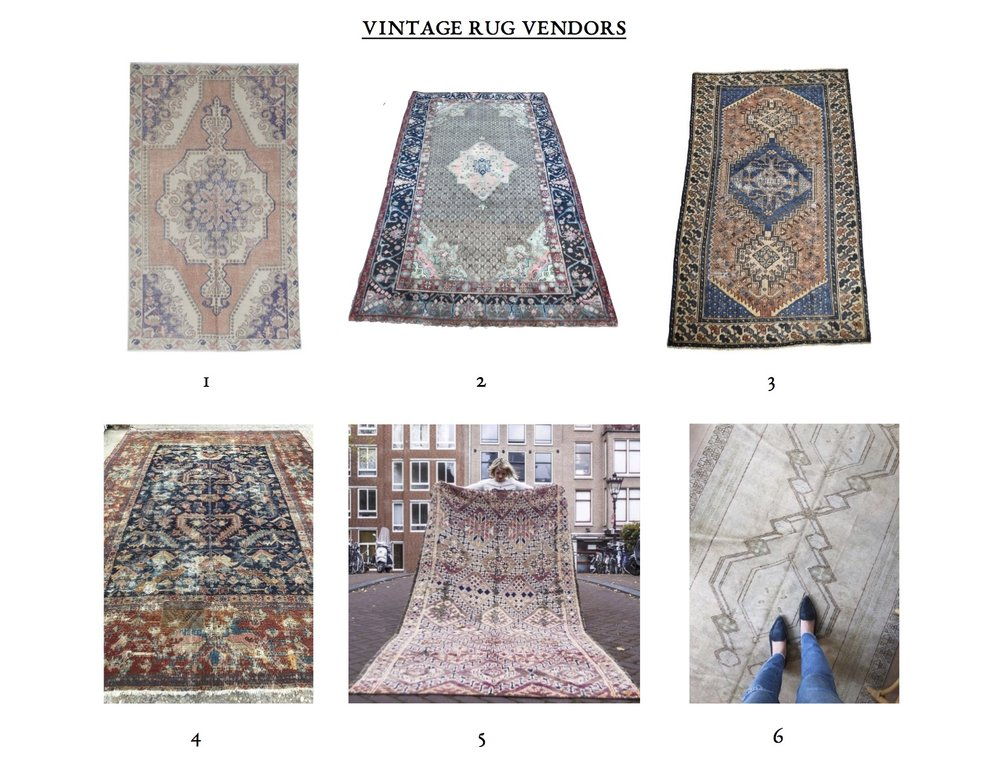 Best Online Vintage Rug Shops