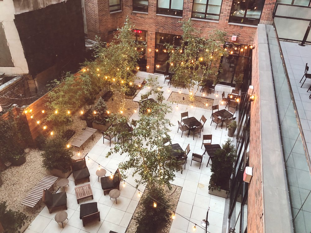 A room with a view: Arlo hotel in SoHo.