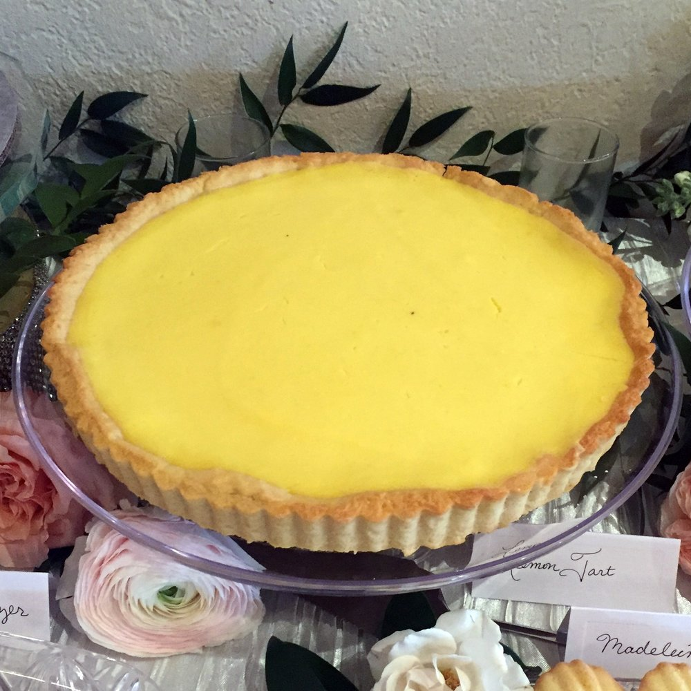 Lemon Tart: $25