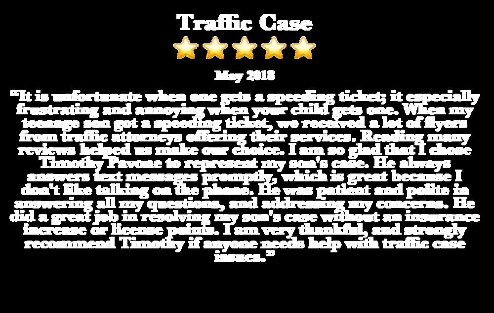 Traffic Case