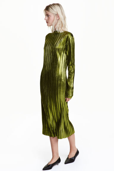 H&M - Metallic Dress