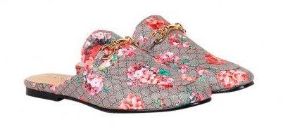 Decjuba - Emma Slip On Loafer, Cherry Floral Print