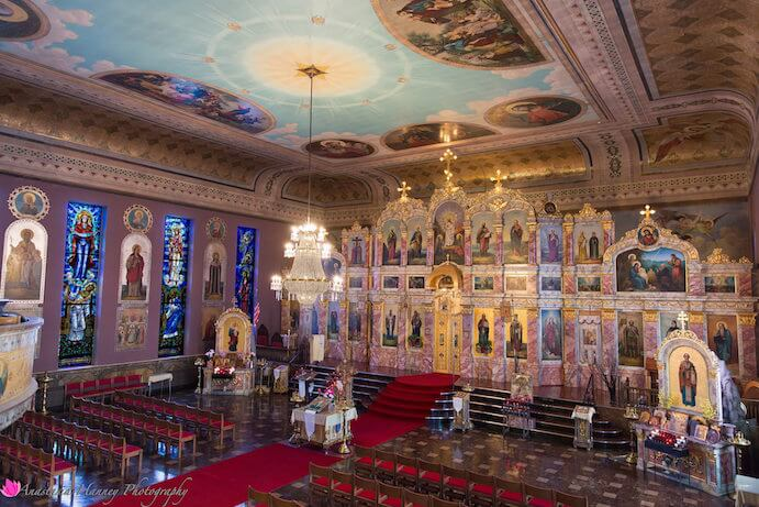 St Nicholas Eastern Orthodox Church Sanctuary, Perfect for Weddings and Performances