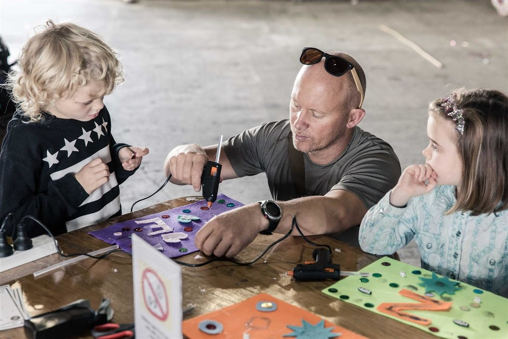 The Family Fun Day workshop