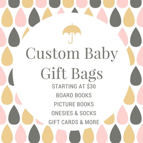 Shop read with me a childrens book art shop custom baby gift bags negle Image collections
