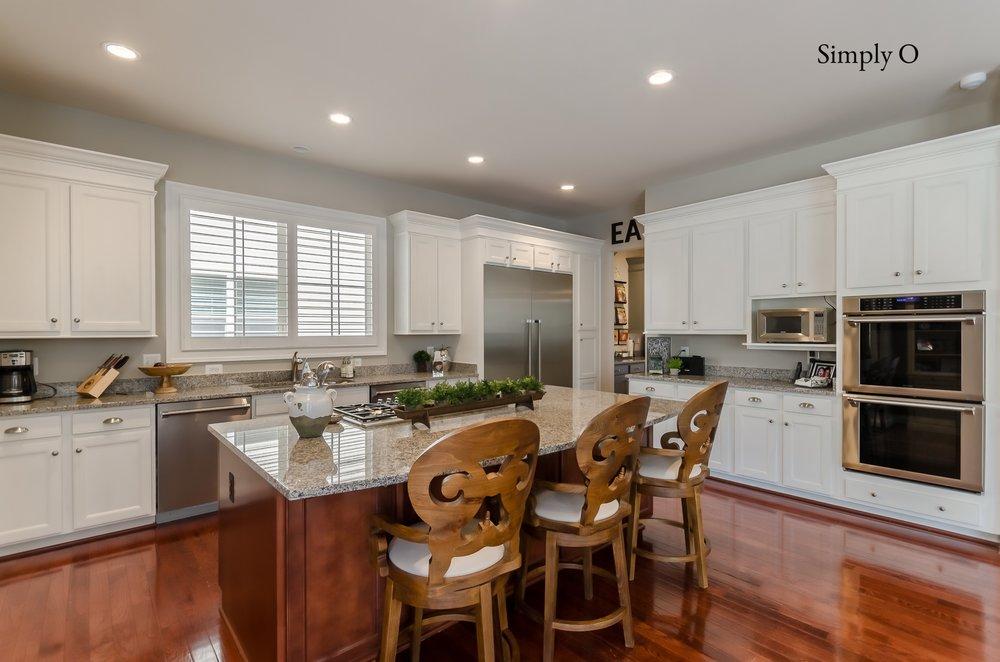 Annie Sloan Painted Kitchen