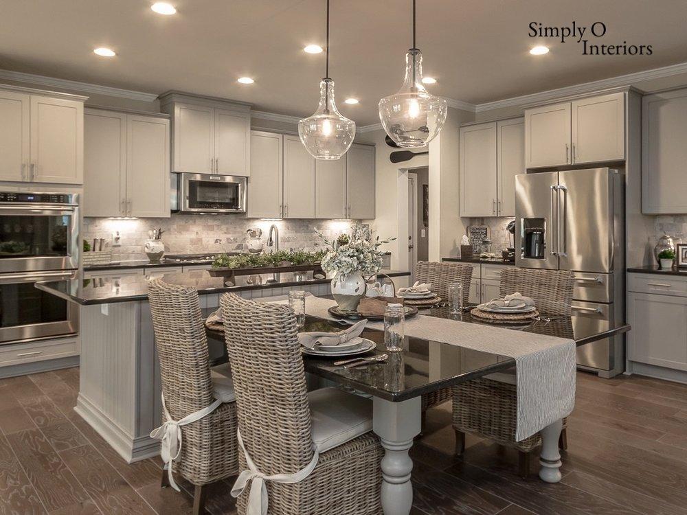 Neutral Grey Shaker Cabinet Kitchen