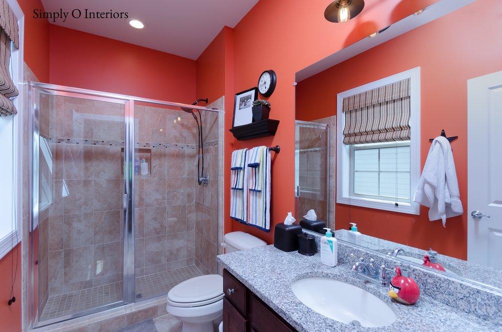 Orioles's Fan Bathroom