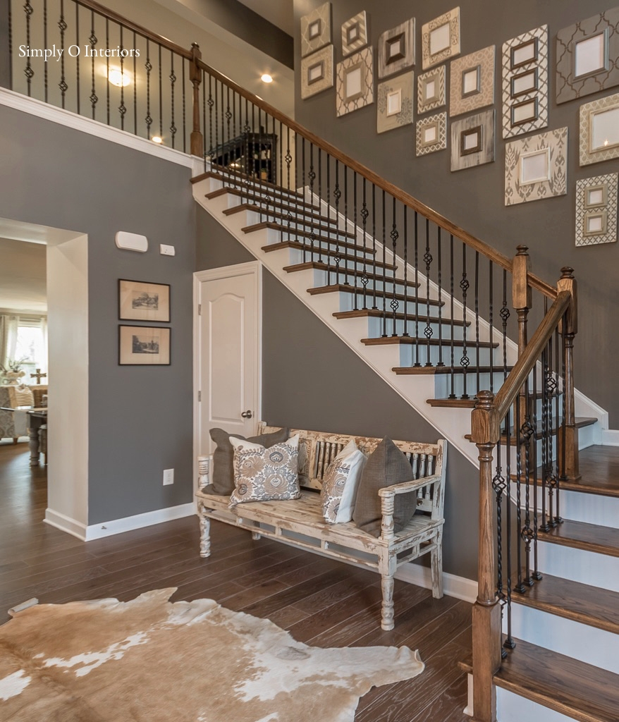 Modern Farmhouse Foyer