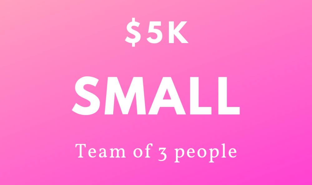 $5k - 3 People -
