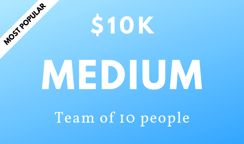 $10k - 10 peopleWeekly check-insDaily videos1 year access to the Mindset PlatformAccurate growth tracking from real-time dataOngoing support from qualified coachesBonus – An e-copy of Tofe's best-selling book, Everyone Has a Plan Until Sh!t Hits the Fan