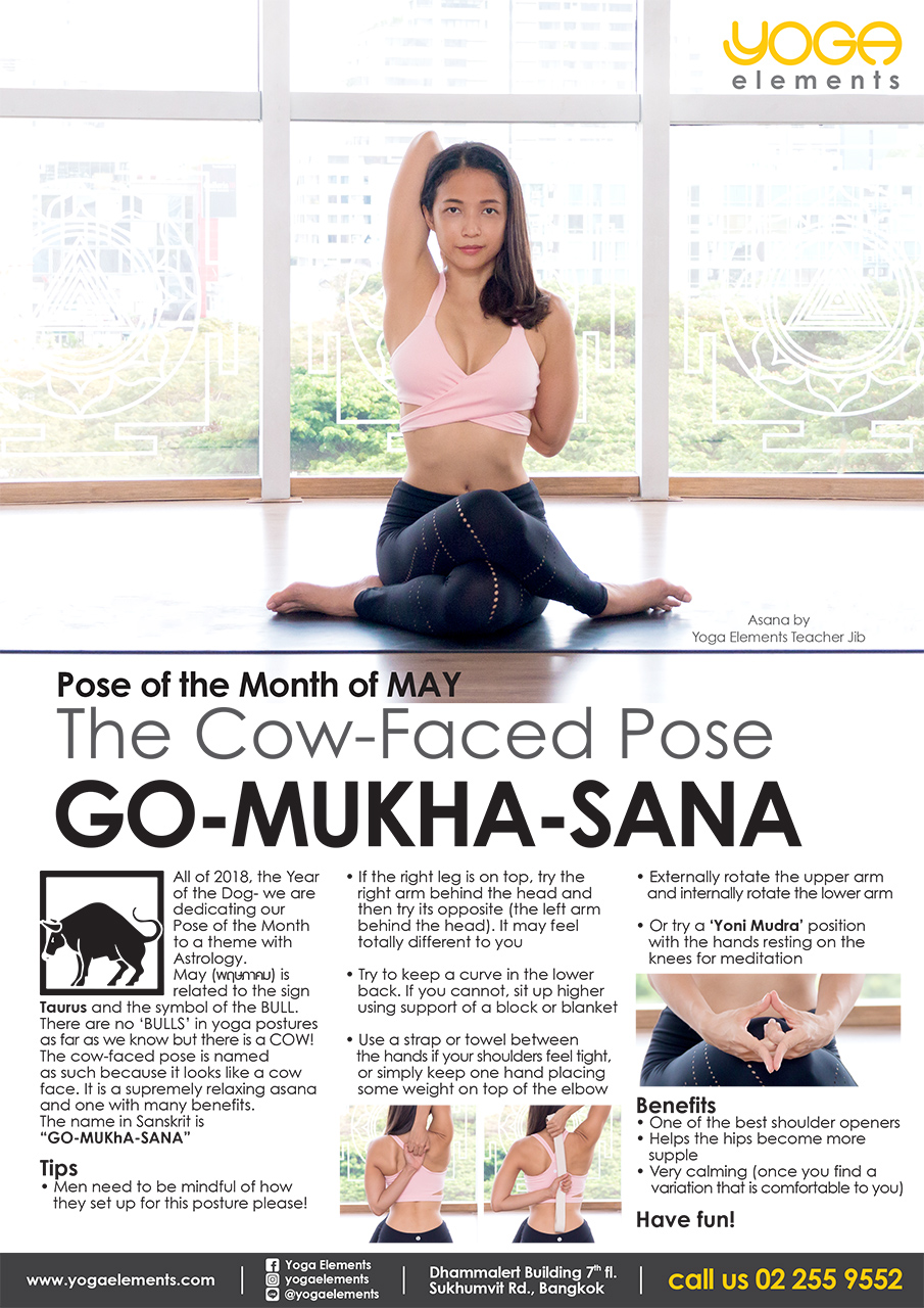 POSE OF THE MONTH