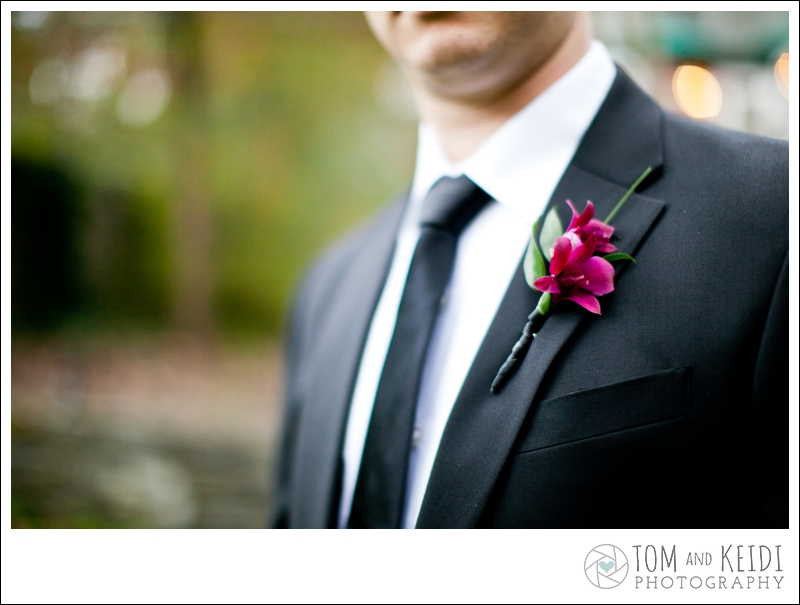 groom boutonniere wedding photo