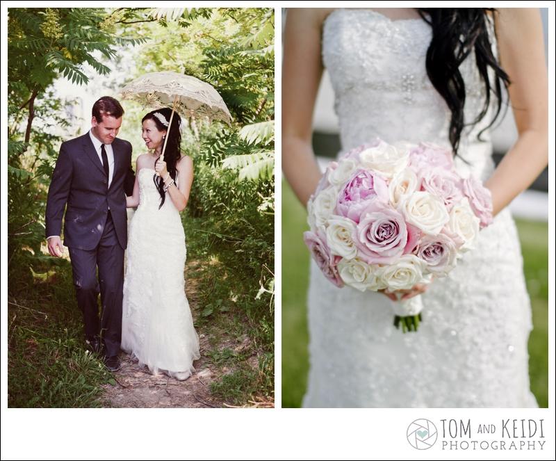 peonies bouquet wedding