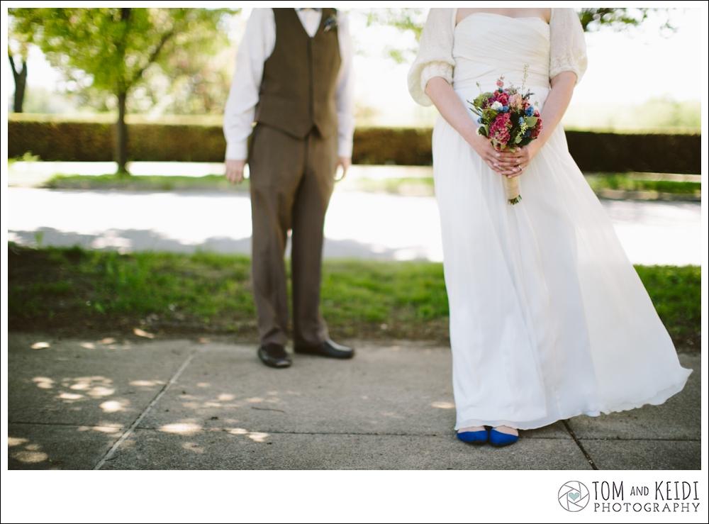 blue shoes wedding photos