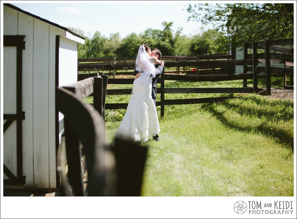 romantic wedding farm photos