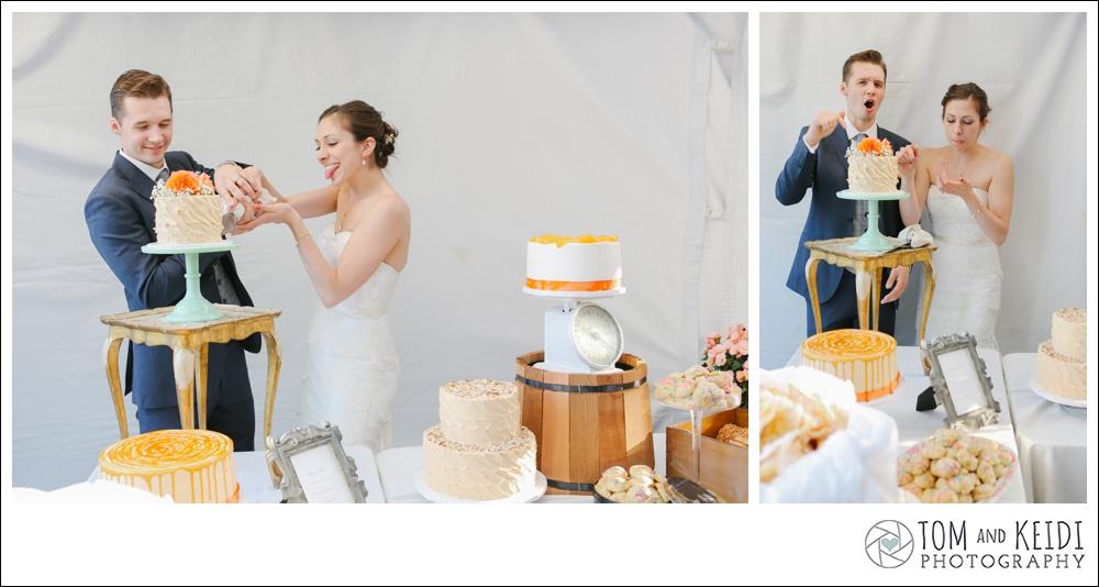 best groom reaction to cake