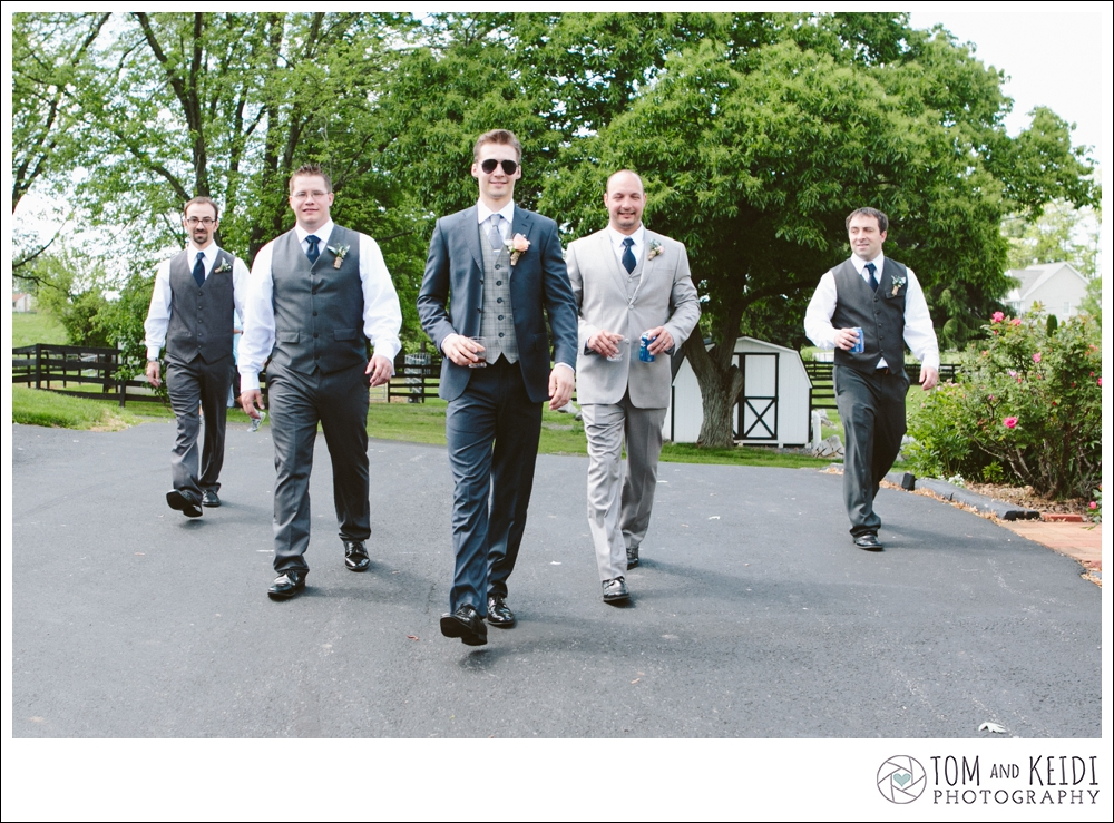 group shot of groomsmen