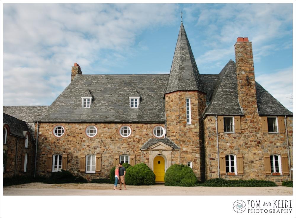 lauxmont castle venue engagement wedding photos