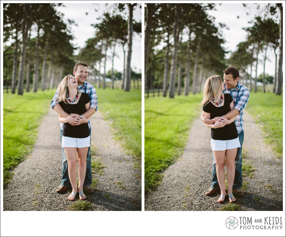 fun engagement session photos