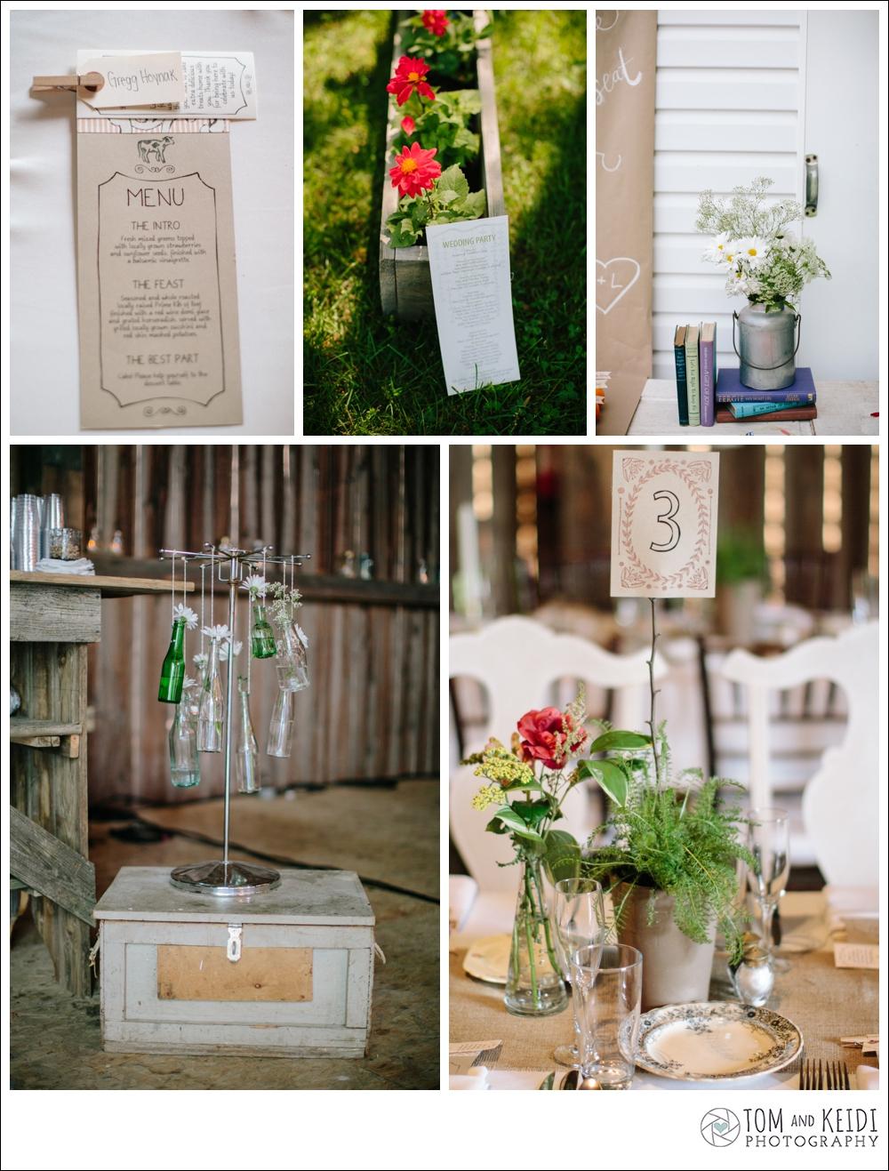 romantic rustic chic boho wedding details diy