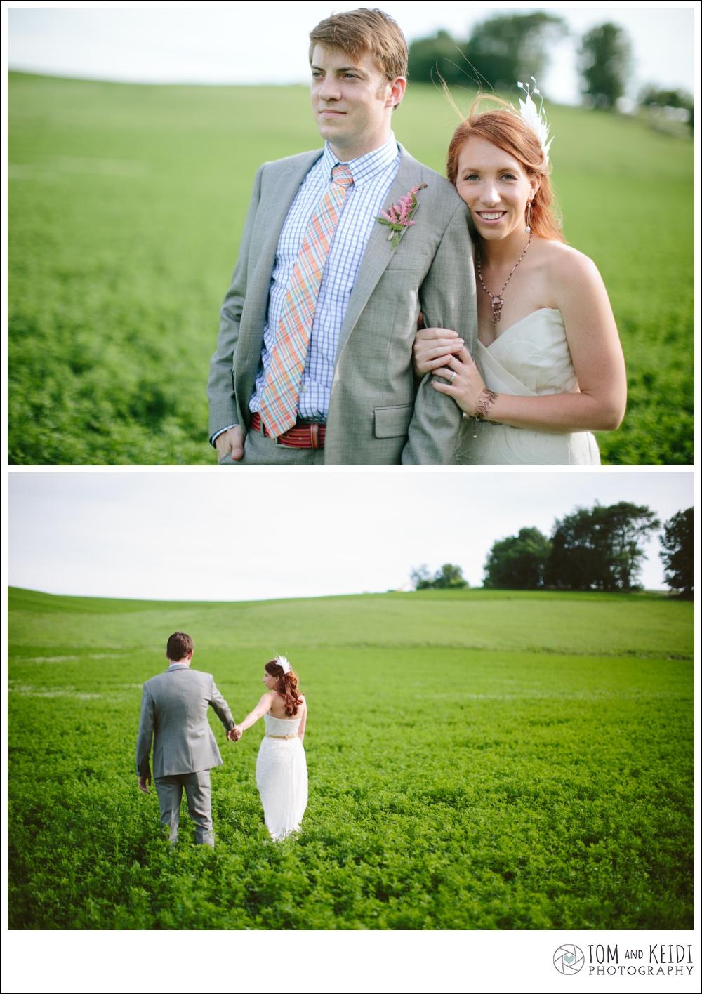 summer romantic wedding pictures
