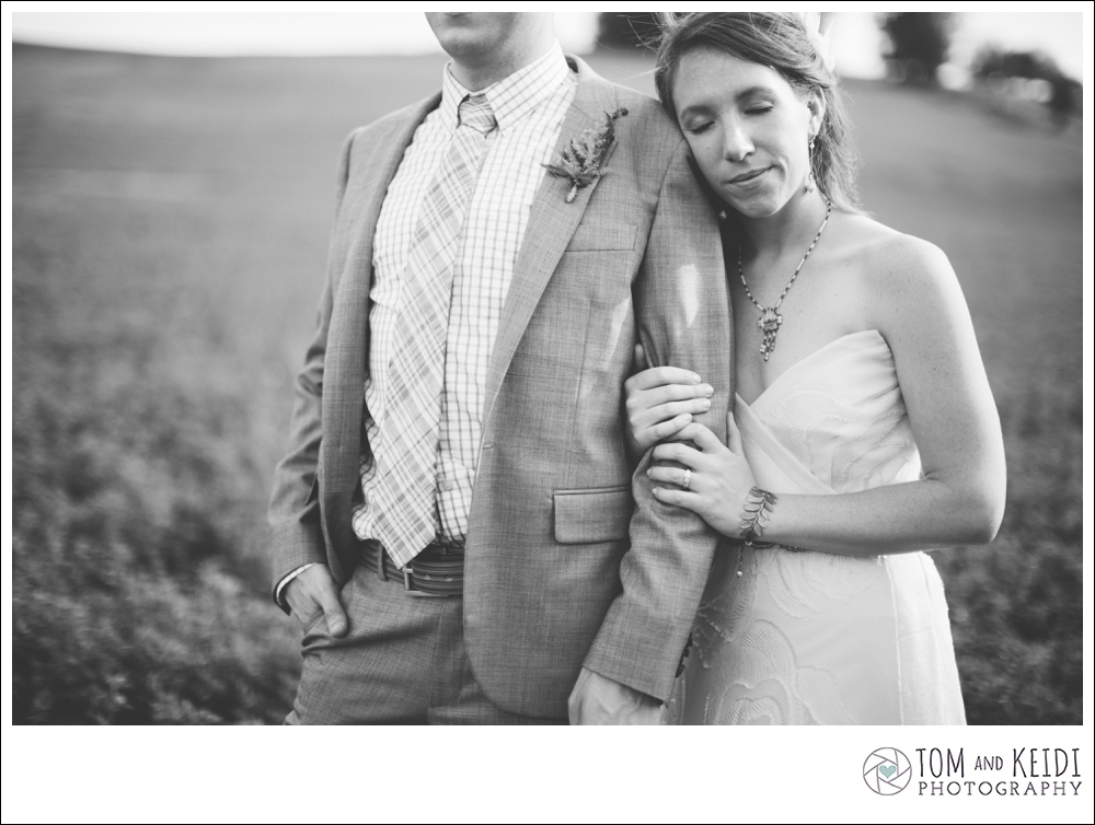 black and white wedding images boho