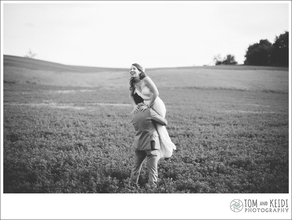 big field wedding pictures