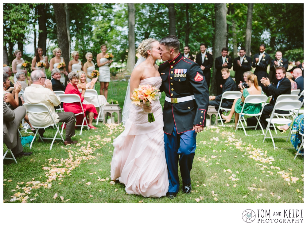 ceremony military pink dress