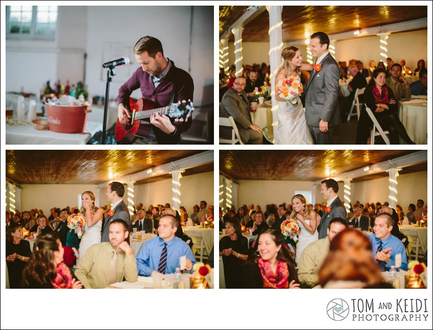 wedding Denison Witmer singer