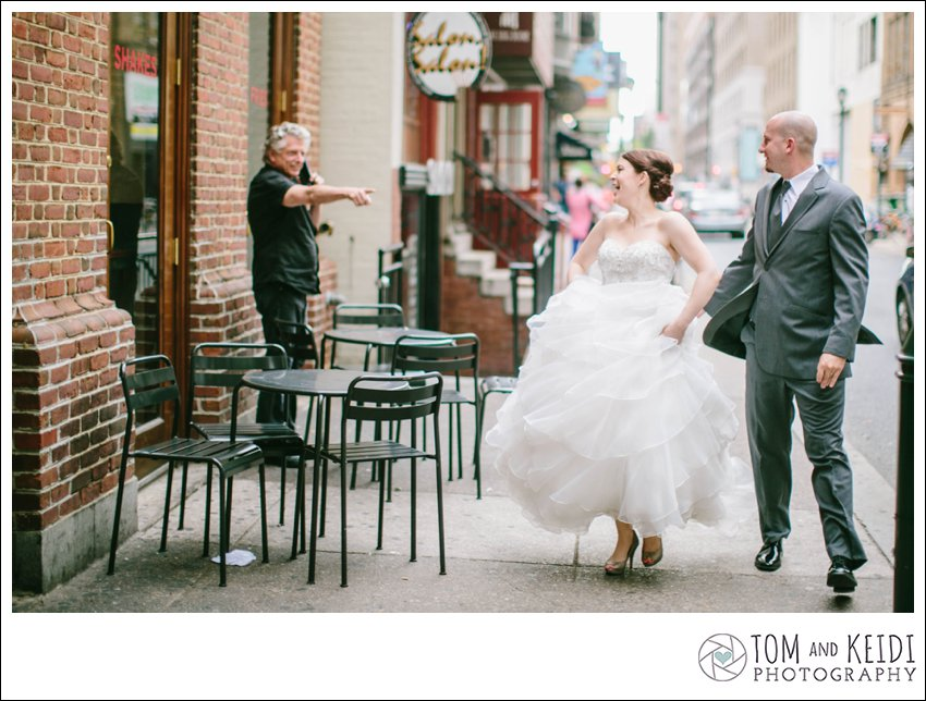 philly downtown wedding photos