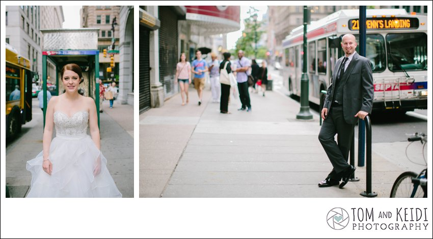 city wedding photo ideas philly