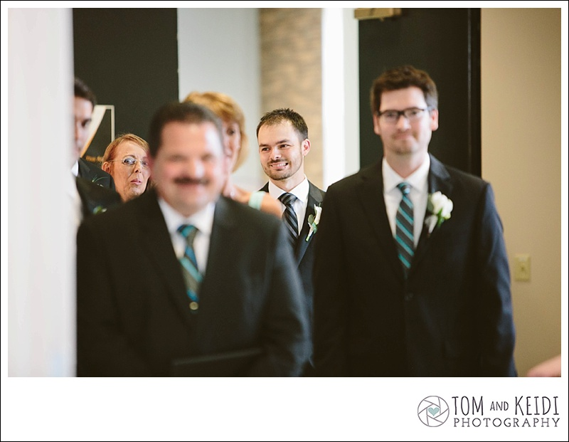 emotional groom wedding photos