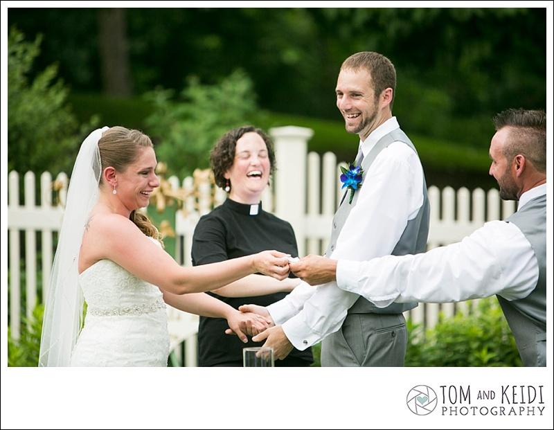 crying bride ceremony