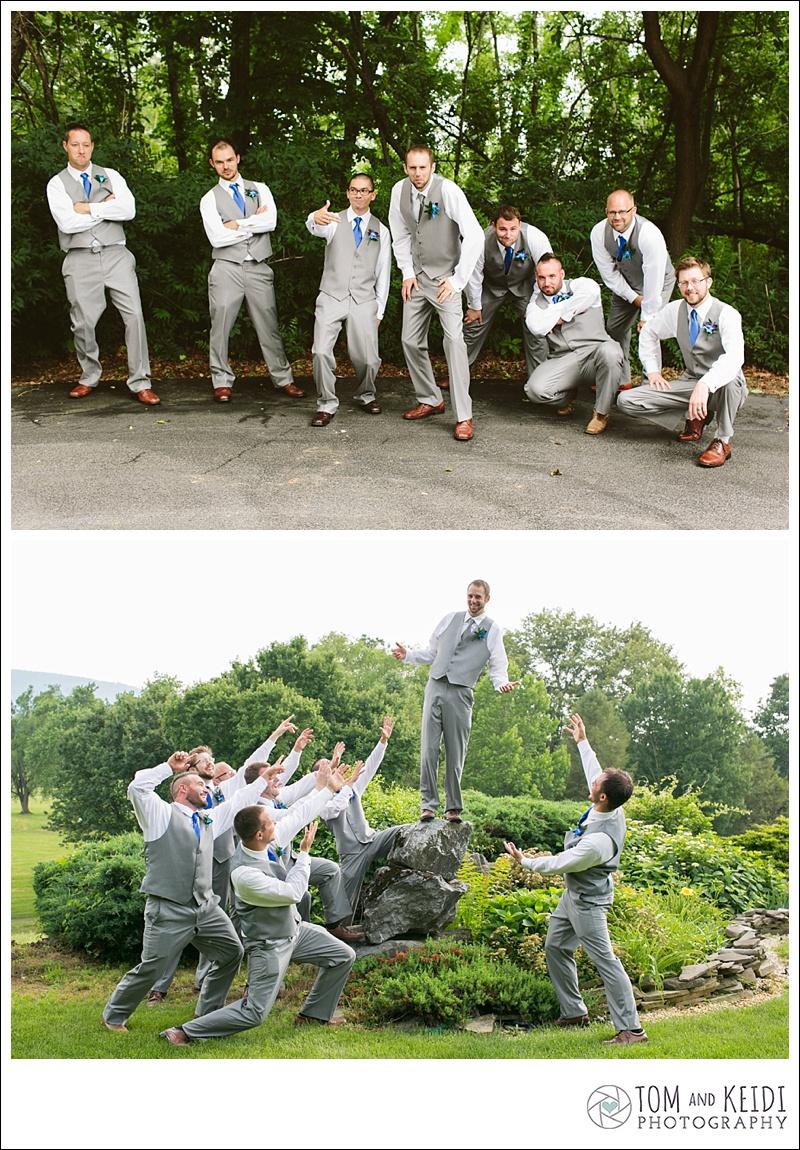 creative groomsmen photo ideas