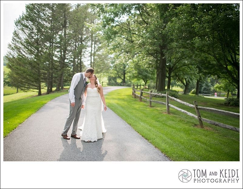 beautiful farm wedding photos