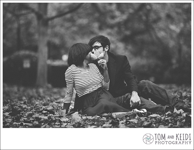 romantic fall photos
