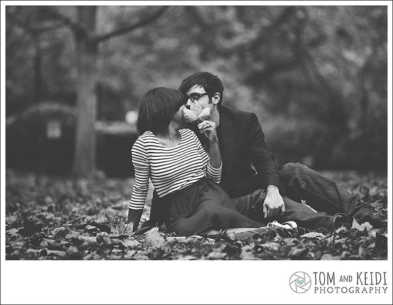 romantic fall photos