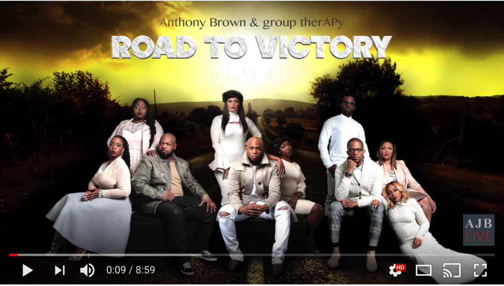 Leap of Faith - For the first time ever Anthony Brown and group therAPy are releasing exclusive behind the scenes footage to the world for FREE. This episode highlights the day that brought them even greater success. Anthony shares his thoughts before and after the night that brought him 10 Stellar Award nominations and wins, a BET Award, 2 Dove Awards, a Grammy Nomination, #1 on Billboard, and more.As everyone is preparing for the show, Anthony and the group receive a special gift from Kirk Franklin wishing them success.Feel the energy on and off stage, see some of the action behind the scenes, and listen to Anthony's response after he walks off stage from performing what has now become some of his greatest hits.*Don't forget to subscribe to Anthony's YouTube channel and his social media for updates on future episodes.*