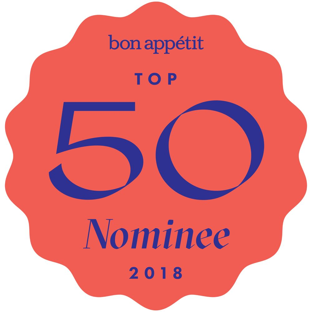 Top 50 Best new Restaurant - by Andrew Knowlton, Bon Appetit