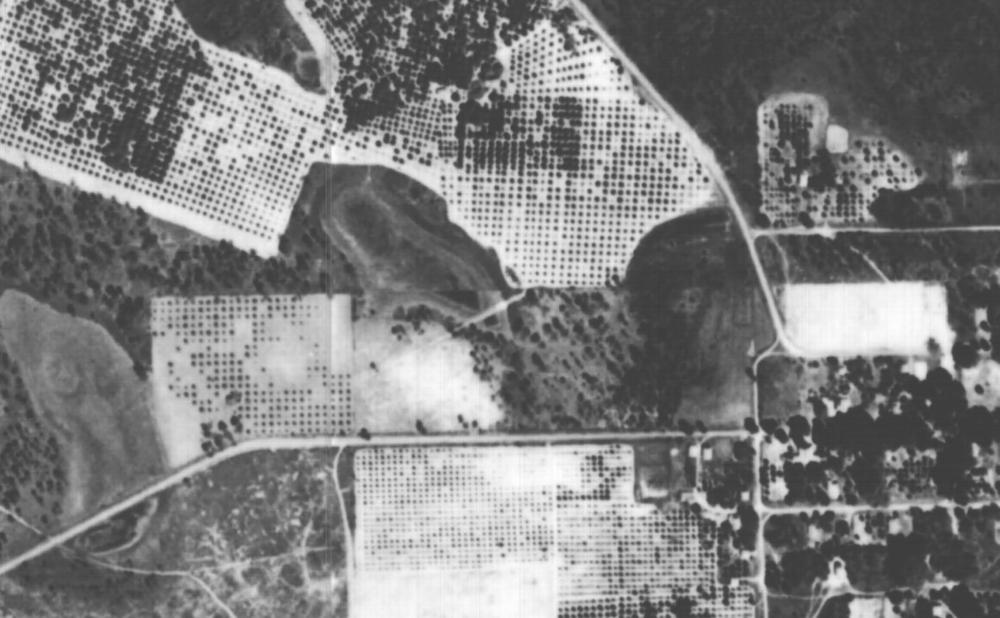 Reiter Park aerial photo in 1940
