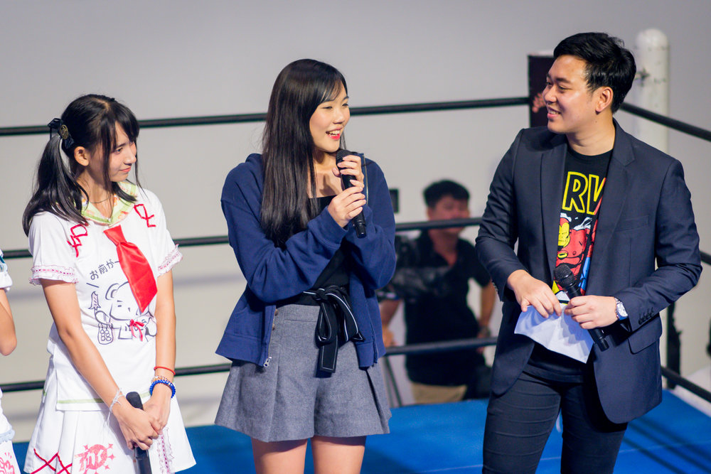 ระหว่างพิธีกรกล่าวเปิดงานอีเวนท์ของกาโตห์ มูฟ ประเทศไทย มีแขงรับเชิญพิเศษคือCincin Irada อดีต 1 ในวง BNK48 ก็แวะมากล่าวเปิดงานและร่วมพูดคุยกับน้องๆLove letter ラブレター