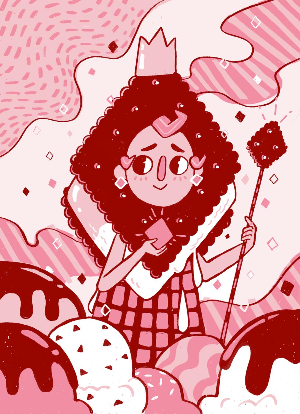 Katya-Austin_Illustration-queen-of-diamonds-card-design.png