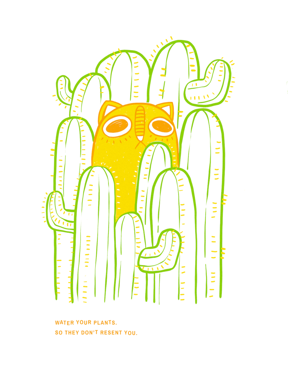 Katya-Austin-Illustration-risograph-cat-houseplants-poster-typography.png