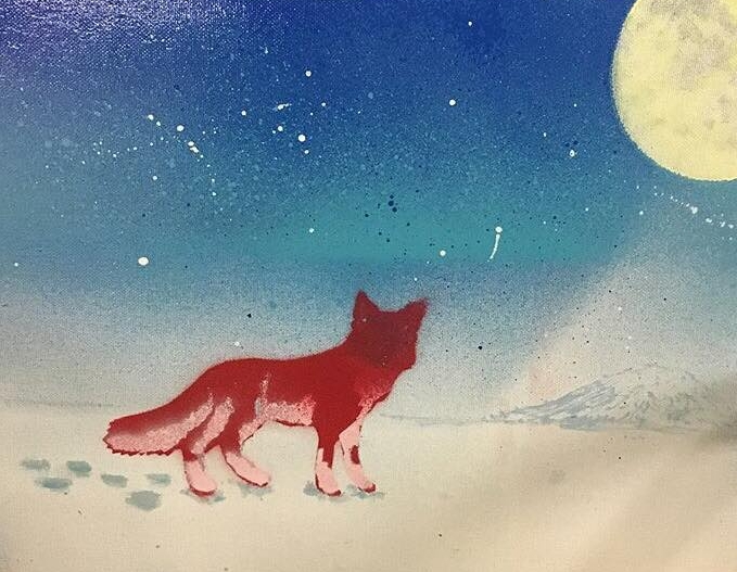 Red Fox in Travel